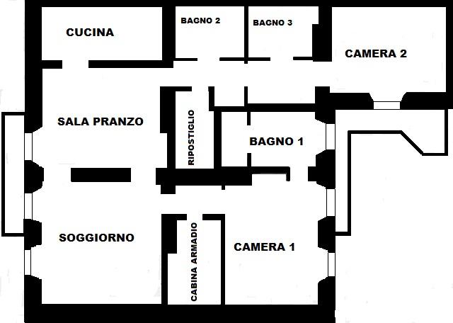 Planimetria Modificata Garibaldi 44