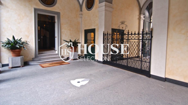 Affitto trilocale via Donizetti, centro storico, luminoso, stabile epoca signorile, Milano 2