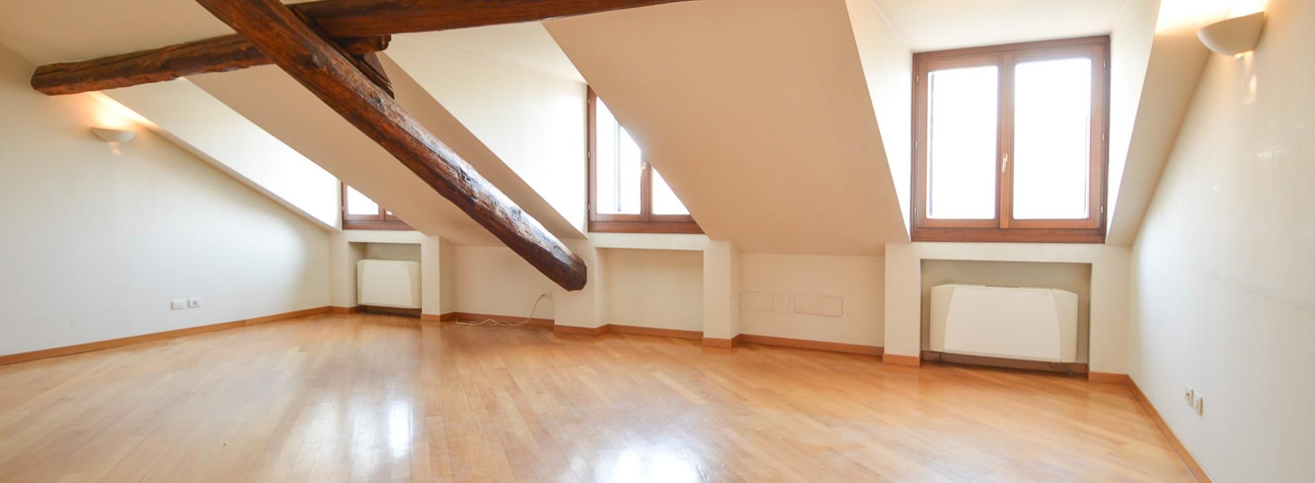 Affitto attico foro Buonaparte, Milano
