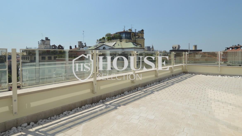 affitto-attico-con-terrazzi-corso-venezia-ultimo-piano-luminoso-signorile-ristrutturato-ampie-vetrate-semi-arredato-milano-1