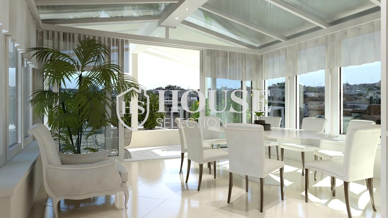 affitto-attico-con-terrazzo-corso-venezia-ultimo-piano-luminoso-signorile-ristrutturato-ampie-vetrate-semi-arredato-milano-3