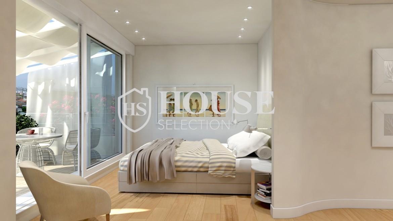 affitto-attico-con-terrazzo-corso-venezia-ultimo-piano-luminoso-signorile-ristrutturato-ampie-vetrate-semi-arredato-milano-5