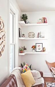 mensole angolari decorative
