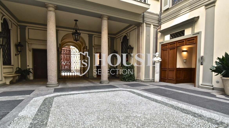 Affitto negozio show-room quadrilatero Montenapoleone Della Spiga centro storico Milano 3
