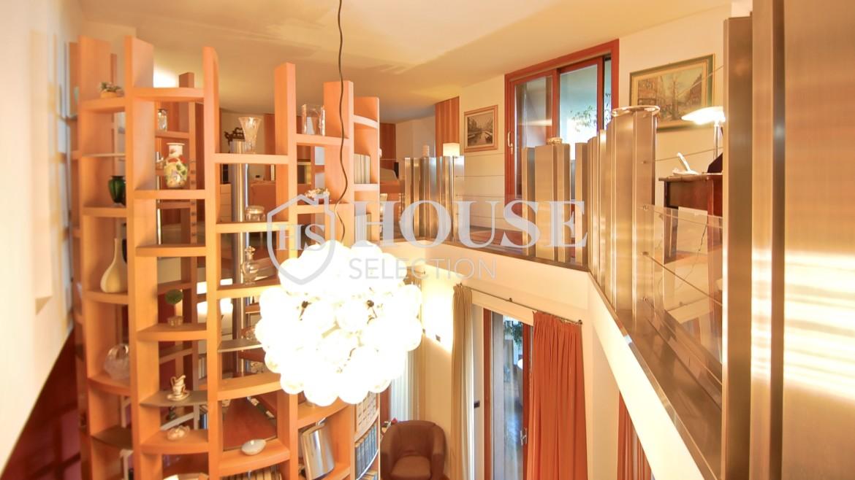 Vendita attico con piscina San Siro, via Ippodromo, terrazzi, signorile, lusso, Milano 10