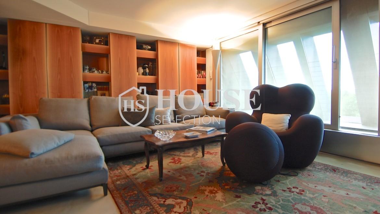 Vendita attico con piscina San Siro, via Ippodromo, terrazzi, signorile, lusso, Milano 8
