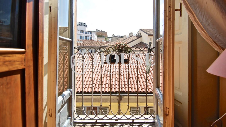 Vendita trilocale via Borromeo, Meravigli, Magenta, centro storico, piano alto, epoca, ascensore, Milano 22