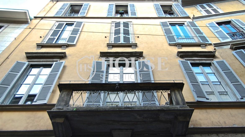 Vendita trilocale via Borromeo, Meravigli, Magenta, centro storico, piano alto, epoca, ascensore, Milano 9