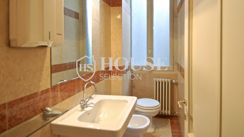 Affitto ufficio corso Venezia, signorile alta rappresentanza, dodici locali, quattro bagni, Milano 6