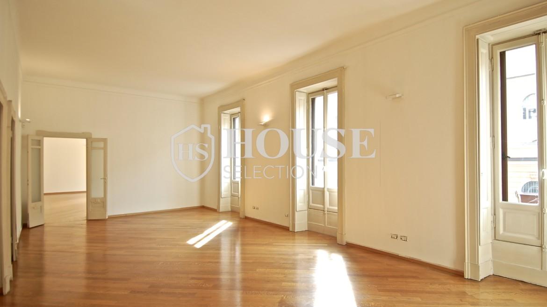 Affitto ufficio corso Venezia, signorile alta rappresentanza, dodici locali, quattro bagni, Milano 9