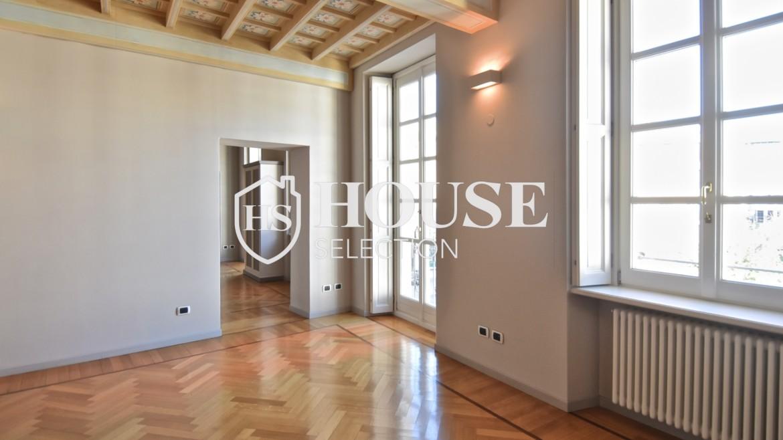 Affitto plurilocale piazza Santo Stefano, Duomo, centro, stabile signorile epoca, storico, ascensore, portineria, Milano 16