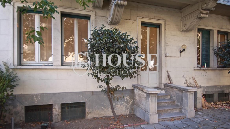 Vendita quadrilocale con giardino via Washington, piazza Bolivar, stabile epoca, da ristrutturare, cantina, Milano 4