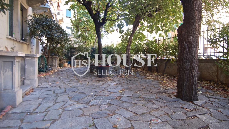 Vendita quadrilocale con giardino via Washington, piazza Bolivar, stabile epoca, da ristrutturare, cantina, Milano 7