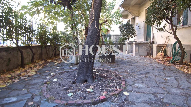 Vendita quadrilocale con giardino via Washington, piazza Bolivar, stabile epoca, da ristrutturare, cantina, Milano 8
