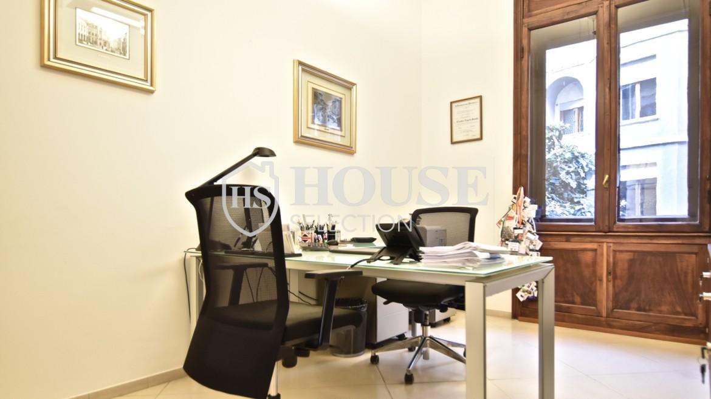 Affitto ufficio via Della Moscova, largo Donegani, via Turati, centro storico, rappresentanza, luminoso, ristrutturato, aria condizionata, Milano 7