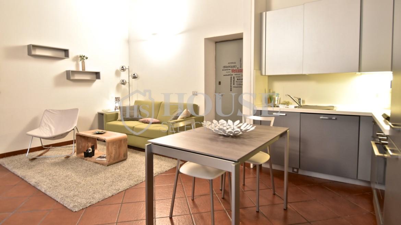 Affitto bilocale Brera via Fiori Chiari, elegante, luminoso, ristrutturato, arredato e corredato, aria condizionata, Milano 11