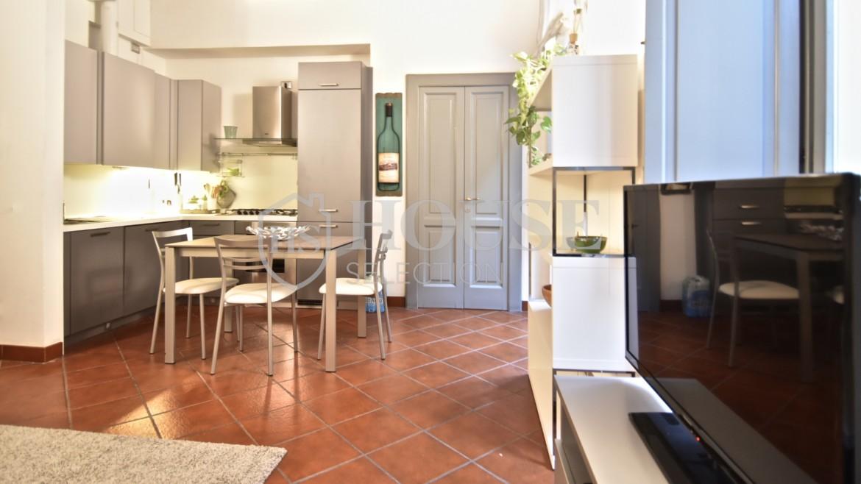Affitto bilocale Brera via Fiori Chiari, elegante, luminoso, ristrutturato, arredato e corredato, aria condizionata, Milano 13