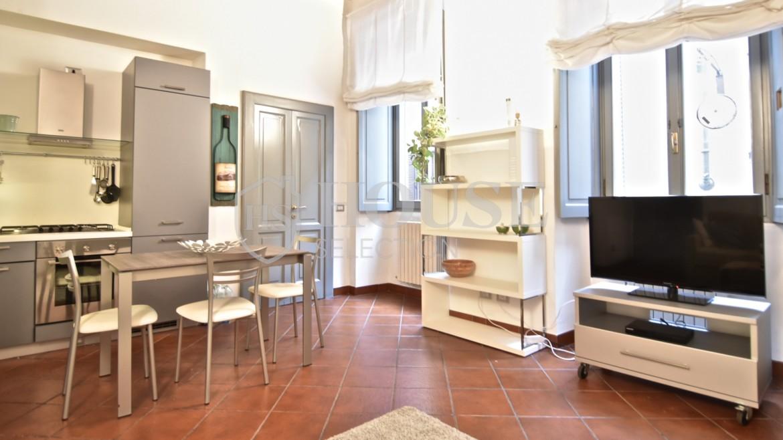 Affitto bilocale Brera via Fiori Chiari, elegante, luminoso, ristrutturato, arredato e corredato, aria condizionata, Milano 14