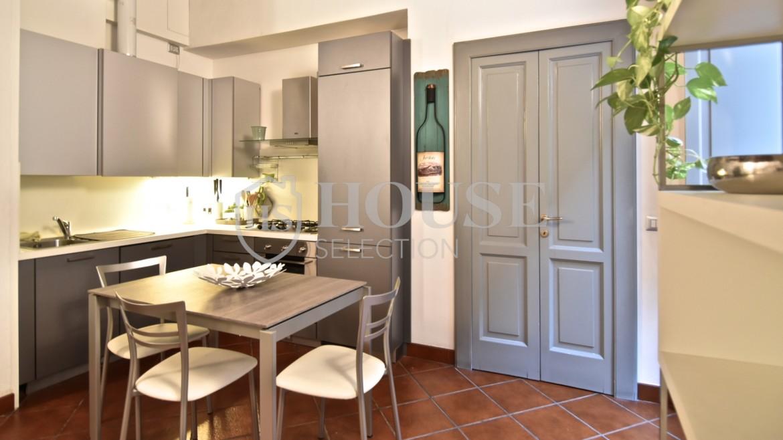 Affitto bilocale Brera via Fiori Chiari, elegante, luminoso, ristrutturato, arredato e corredato, aria condizionata, Milano 15