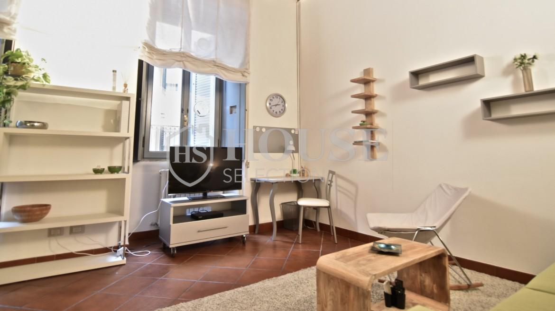 Affitto bilocale Brera via Fiori Chiari, elegante, luminoso, ristrutturato, arredato e corredato, aria condizionata, Milano 16