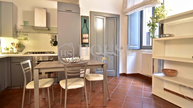 Affitto bilocale Brera via Fiori Chiari, elegante, luminoso, ristrutturato, arredato e corredato, aria condizionata, Milano 8