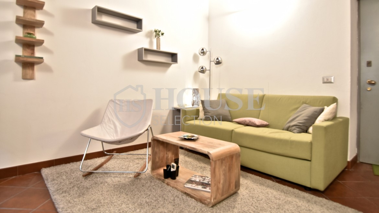 Affitto bilocale Brera via Fiori Chiari, elegante, luminoso, ristrutturato, arredato e corredato, aria condizionata, Milano 9