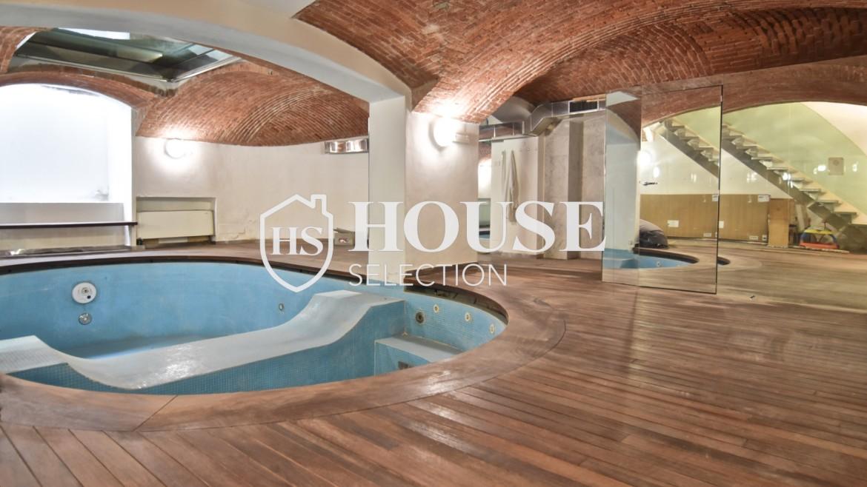 Vendita loft Porta Venezia, Repubblica, via San Gregorio, luminoso, piscina, ristrutturato, Milano 1