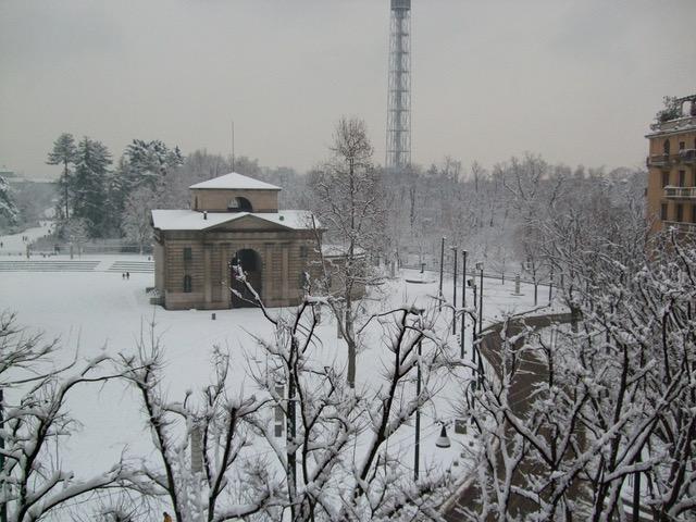 Vista Nevicata Arco