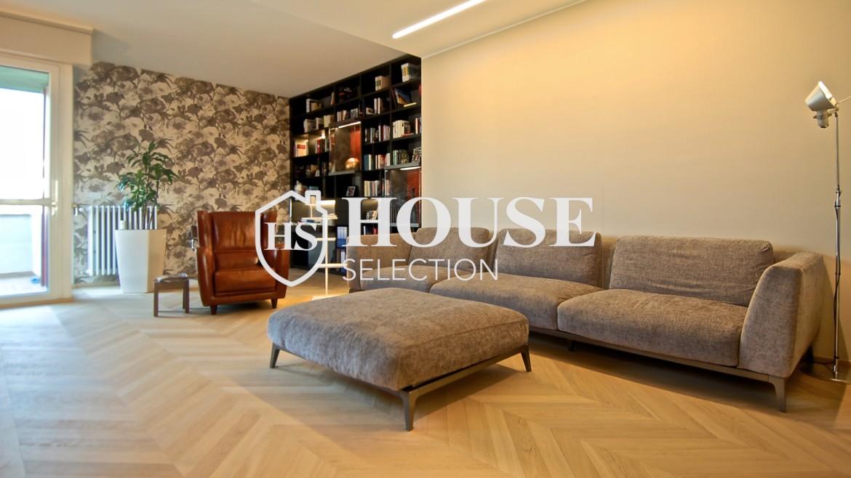 Vendita attico con terrazzo San Felice, ultimo piano, Mondadori, Segrate, ristrutturato a nuovo, Milano 1