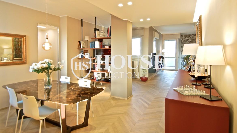 Vendita attico con terrazzo San Felice, ultimo piano, Mondadori, Segrate, ristrutturato a nuovo, Milano 18