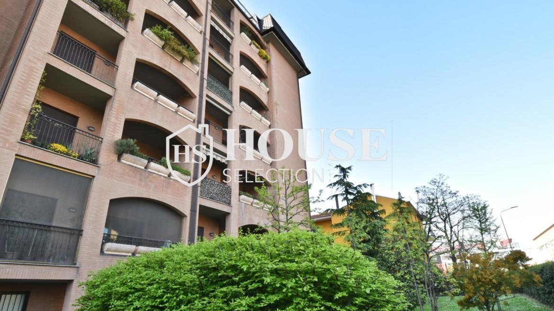 Vendita attico con terrazzo San Siro, recente costruzione, ristrutturato, ultimo piano, ascensore, Milano 1