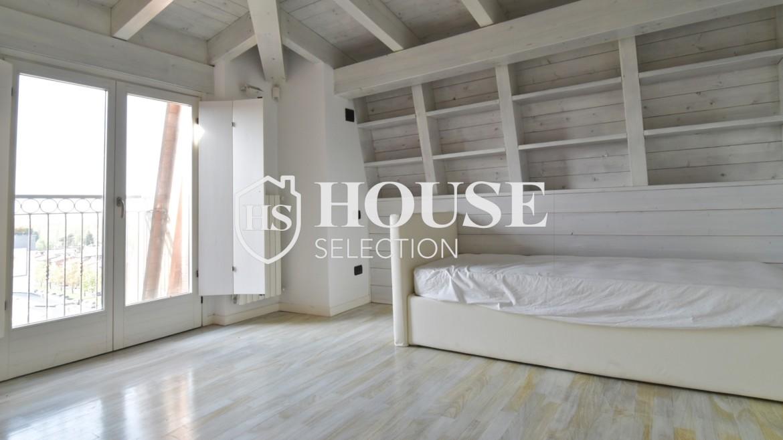 Vendita attico con terrazzo San Siro, recente costruzione, ristrutturato, ultimo piano, ascensore, Milano 11