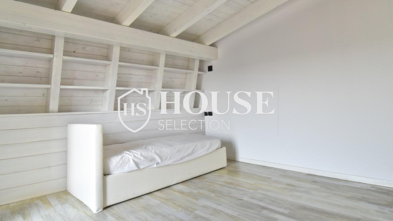Vendita attico con terrazzo San Siro, recente costruzione, ristrutturato, ultimo piano, ascensore, Milano 12