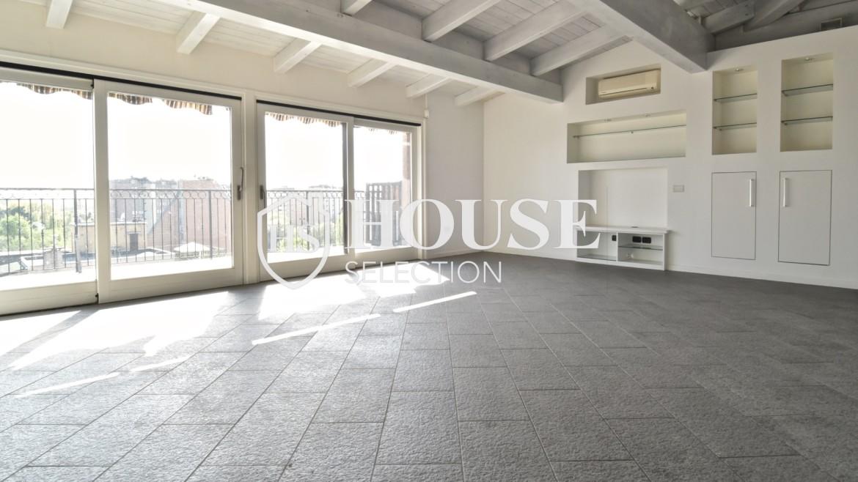 Vendita attico con terrazzo San Siro, recente costruzione, ristrutturato, ultimo piano, ascensore, Milano 16