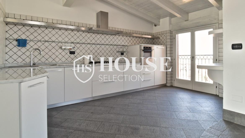 Vendita attico con terrazzo San Siro, recente costruzione, ristrutturato, ultimo piano, ascensore, Milano 17