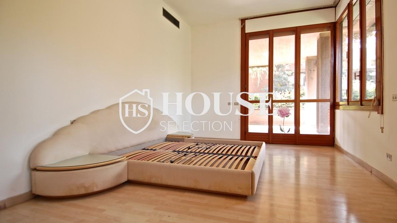 Vendita villa con giardino San Siro, bifamiliare, terrazzo, box auto, Milano 14