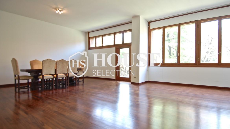 Vendita villa con giardino San Siro, bifamiliare, terrazzo, box auto, Milano 7