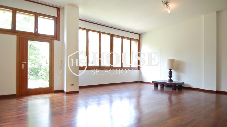 Vendita villa con giardino San Siro, bifamiliare, terrazzo, box auto, Milano 8