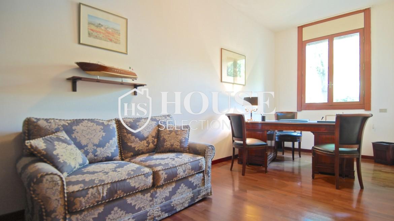 Vendita villa con giardino San Siro, bifamiliare, terrazzo, taverna, Milano 14