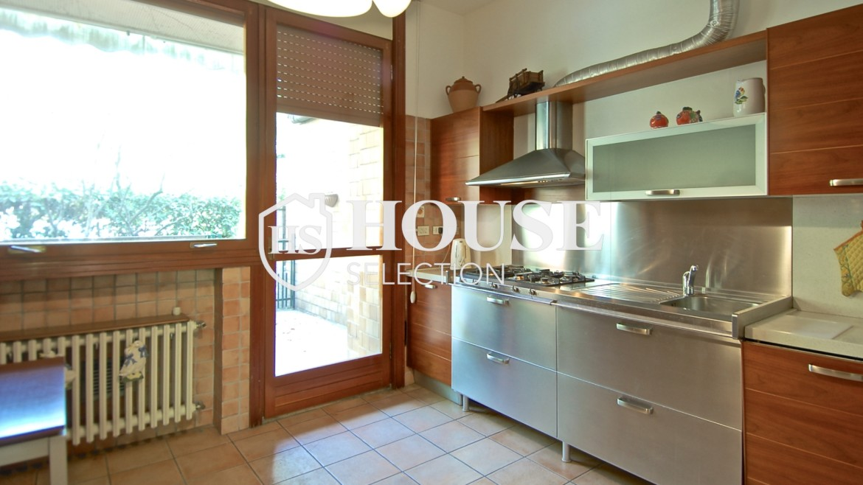 Vendita villa con giardino San Siro, bifamiliare, terrazzo, taverna, Milano 15