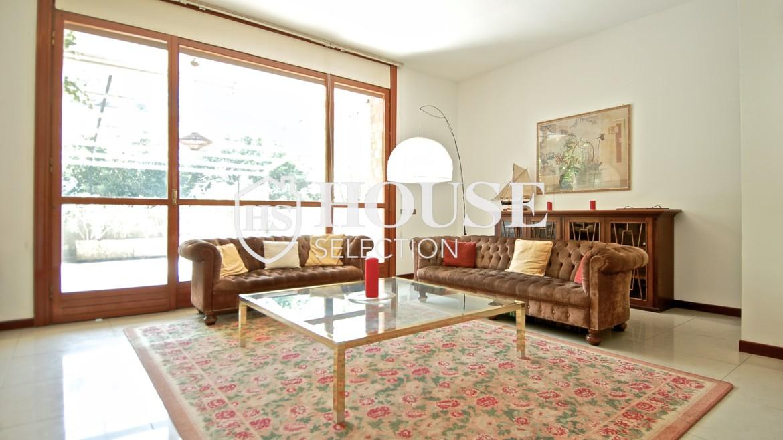 Vendita villa con giardino San Siro, bifamiliare, terrazzo, taverna, Milano 17