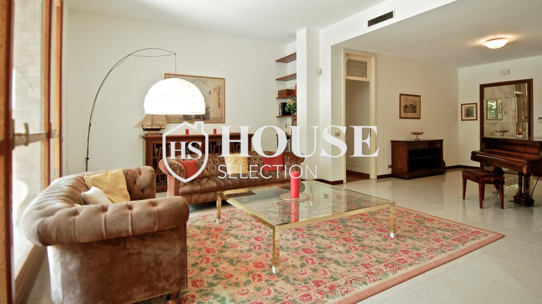 Vendita villa con giardino San Siro, bifamiliare, terrazzo, taverna, Milano 19