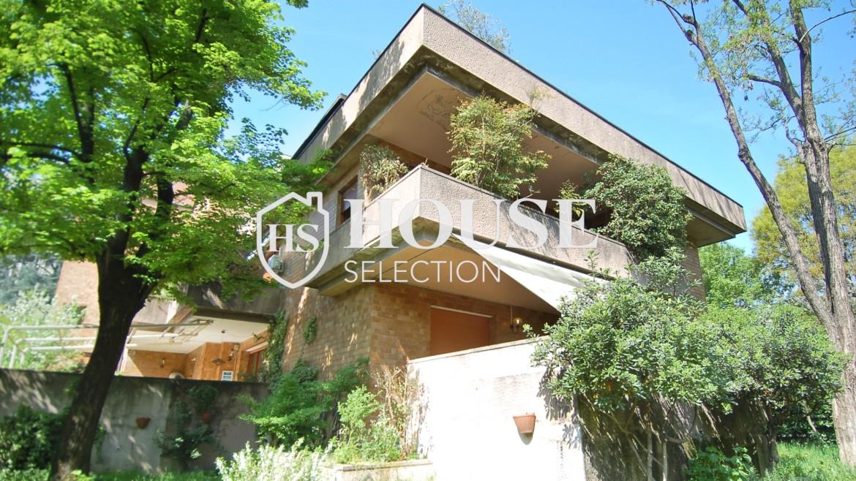 Vendita villa con giardino San Siro, bifamiliare, terrazzo, taverna, Milano 2
