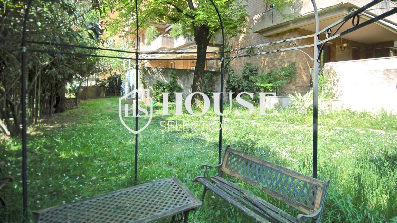Vendita villa con giardino San Siro, bifamiliare, terrazzo, taverna, Milano 3