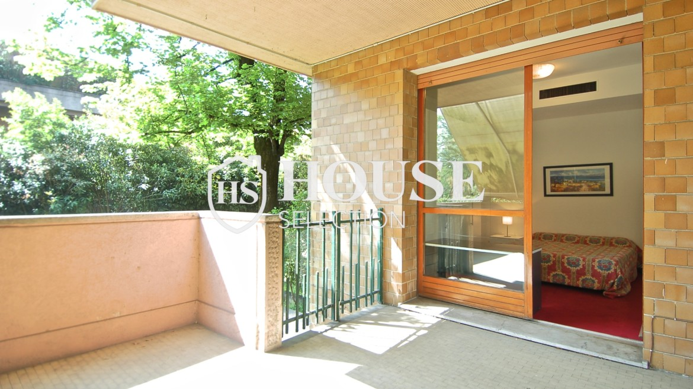 Vendita villa con giardino San Siro, bifamiliare, terrazzo, taverna, Milano 5