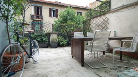Affitto bilocale con terrazzo Corso Plebisciti