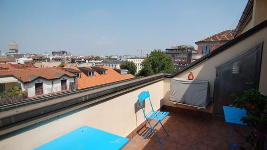 Affitto bilocale con terrazzo Bocconi
