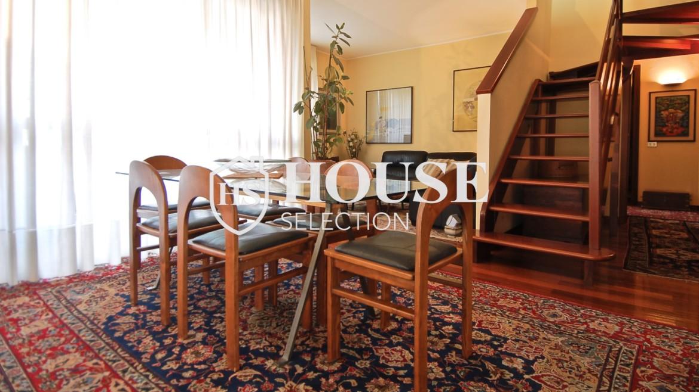 Vendita attico con terrazzo via Palmieri, ristrutturato, stabile signorile, ascensore, box auto, Milano 20