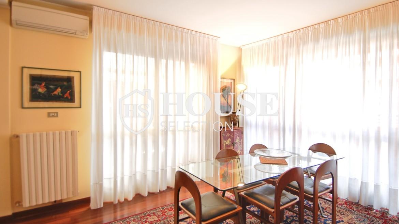 Vendita attico con terrazzo via Palmieri, ristrutturato, stabile signorile, ascensore, box auto, Milano 23