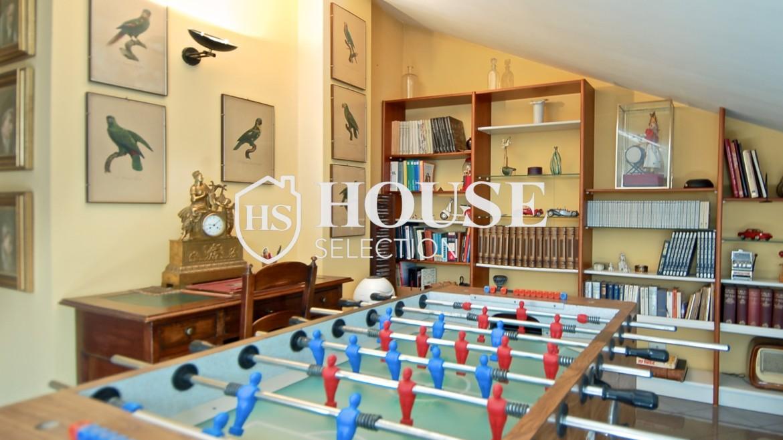 Vendita attico con terrazzo via Palmieri, ristrutturato, stabile signorile, ascensore, box auto, Milano 6